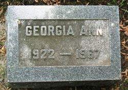Georgia Ann Kellogg