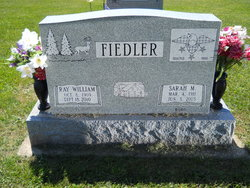 Sarah Maybelle <i>Burd</i> Fiedler