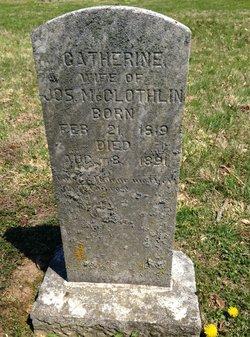 Catherine <i>Hall</i> McGlothlin