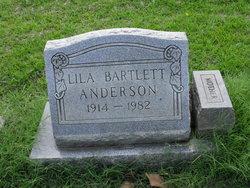 Lila <i>Bartlett</i> Anderson