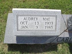 Audrey Mae <i>Tucker</i> Carlisle