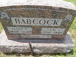 Mary Elizabeth <i>Sprague</i> Babcock