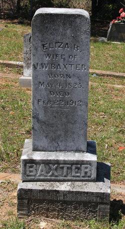 Elizabeth Brown Eliza <i>Payne</i> Baxter