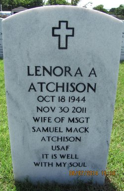 Lenora Ann <i>Chenault</i> Atchison