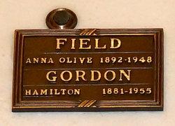 Anna Olive <i>Whitaker</i> Field