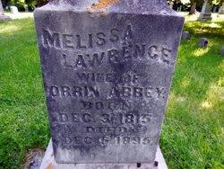Melissa <i>Lawrence</i> Abbey