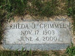 Rheda J Crimmel