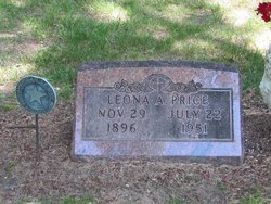Leona A <i>Knauss</i> Price
