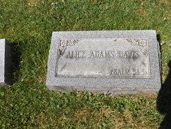 Alice <i>Adams</i> Davis
