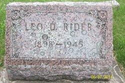 Leo Dwight Rider