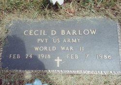 Cecil D Barlow, Sr