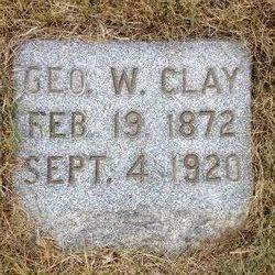 Dr George W. Clay