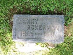 Henry Ackerman