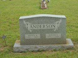 Bertha Evelyn <i>Nelson</i> Anderson