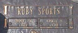 Ruby <i>Sports</i> Driggers