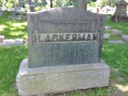 Christina <i>Hartmann</i> Ackerman