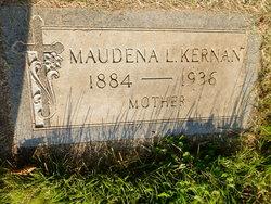 Maudena Elizabeth Lizzie <i>Stearns</i> Kernan