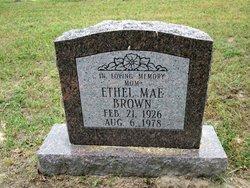 Ethel Mae Brown
