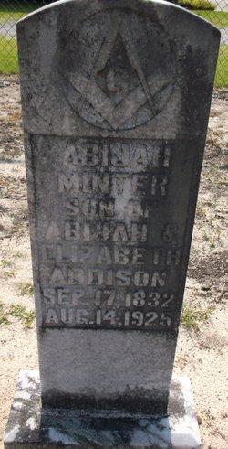 Abijah Minter Addison