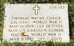 Thomas Wayne Comer