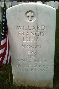 Willard Francis Luna