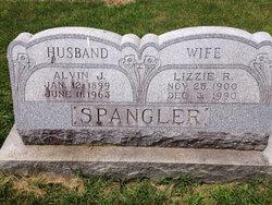 Lizzie R <i>Helder</i> Spangler