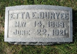 Etta Elizabeth <i>Hall</i> Duryee
