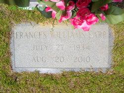Edna Frances <i>Williams</i> Earp