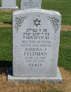 Barbara J. <i>Rosnick</i> Feldman