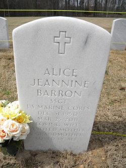 Alice Jeannine <i>Tucker</i> Barron