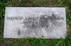 Gertrude M. <i>Kjellgren</i> Abramson