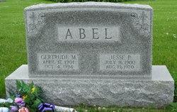Gertrude M. <i>Beckman</i> Abel