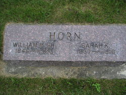 William M Horn, Sr