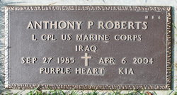 LCpl Anthony Paul Roberts