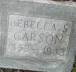 Rebecca Jane <i>Byram</i> Carson