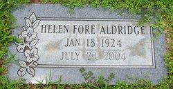 Helen <i>Fore</i> Aldridge