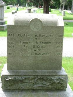 Doris L. <i>Hammond</i> Cedar