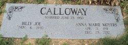 Anna Marie <i>Moyers</i> Calloway