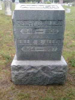 Lillie R Allen