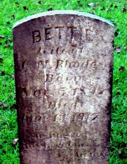 Bettie <i>Massengill</i> Rhodes
