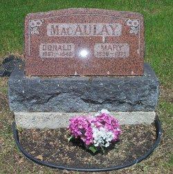 Mary <i>Buchanan</i> MacAulay