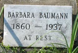 Barbara <i>Dillinger</i> Baumann