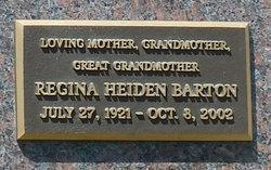 Regina I <i>Heiden</i> Barton