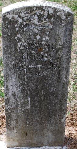 Carson C Burriss