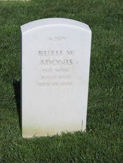 Ruth W Adonis