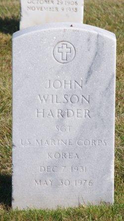 John Wilson Harder