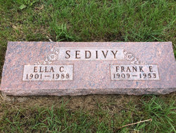 Ella C. <i>Dahlberg</i> Sedivy