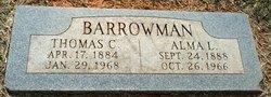 Alma L Barrowman