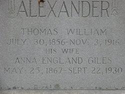 Thomas William Alexander