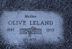 Olive <i>Williams</i> Leland